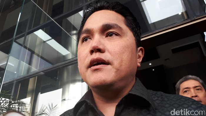 Erick Thohir mendatangi KPK.