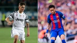 Chiellini Sebut Dybala Belum Senilai Neymar
