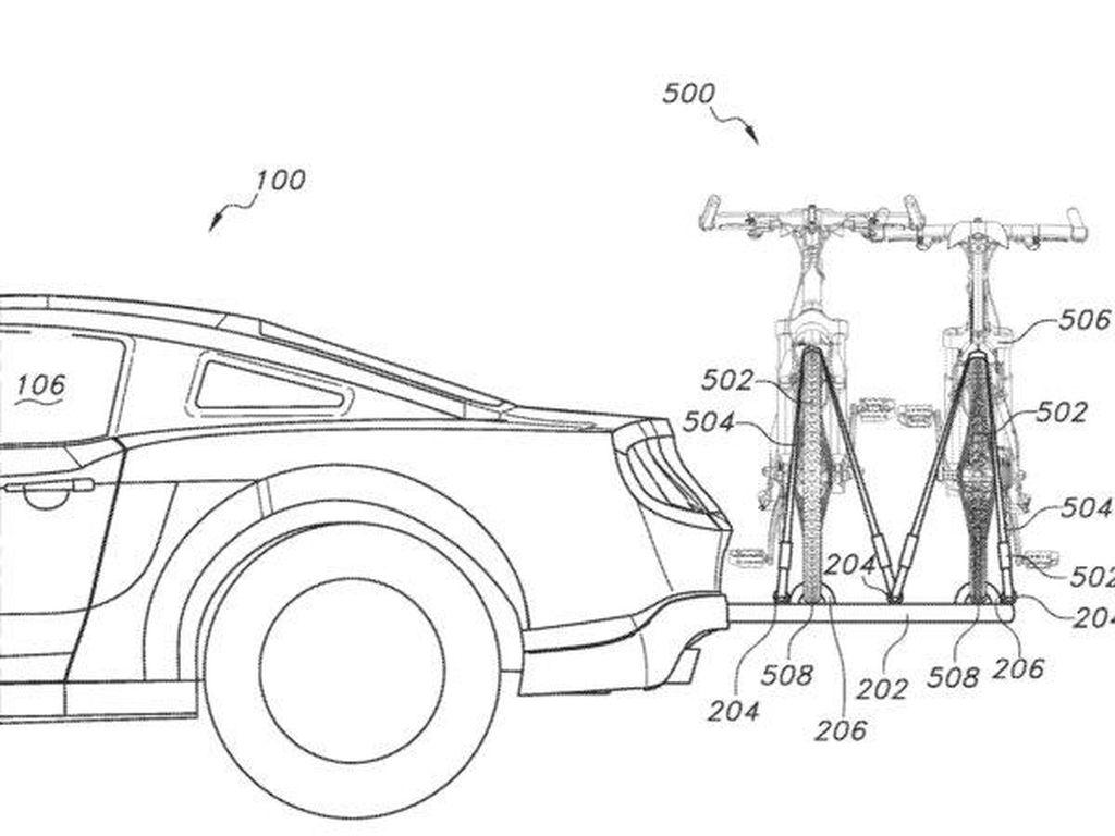 Ford Bikin Paten Mobil Sport Bisa Angkut 2 Sepeda