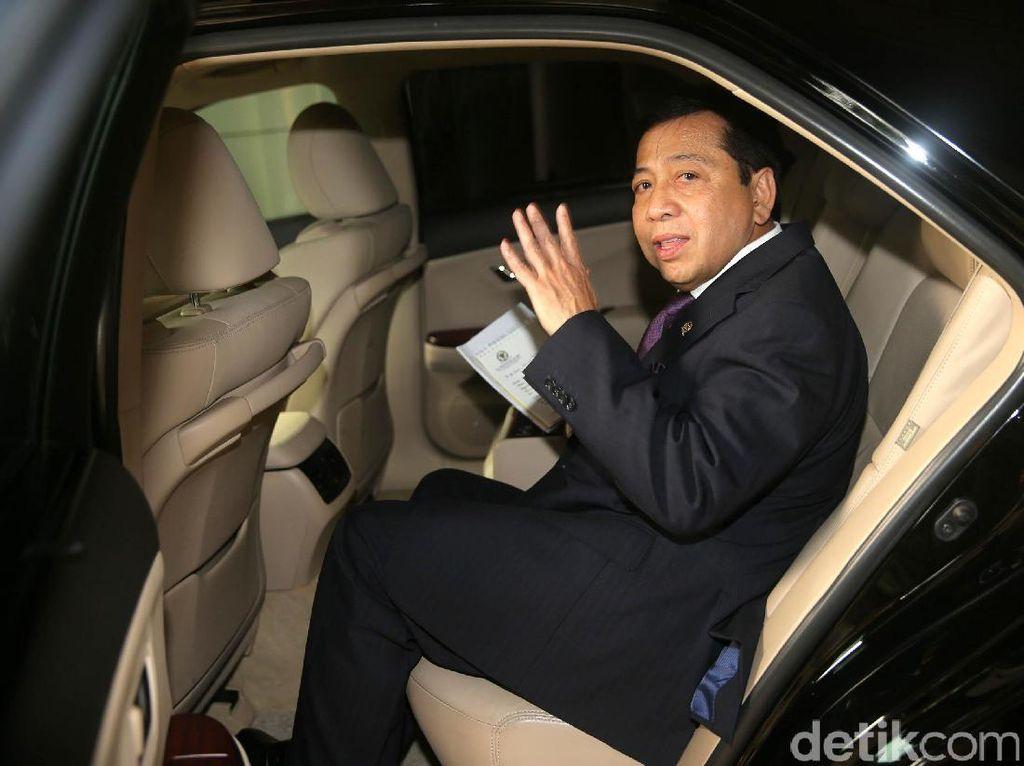 Novanto 2 Kali Absen Sidang, Hakim: Gimana Ini Sikap Jaksa?