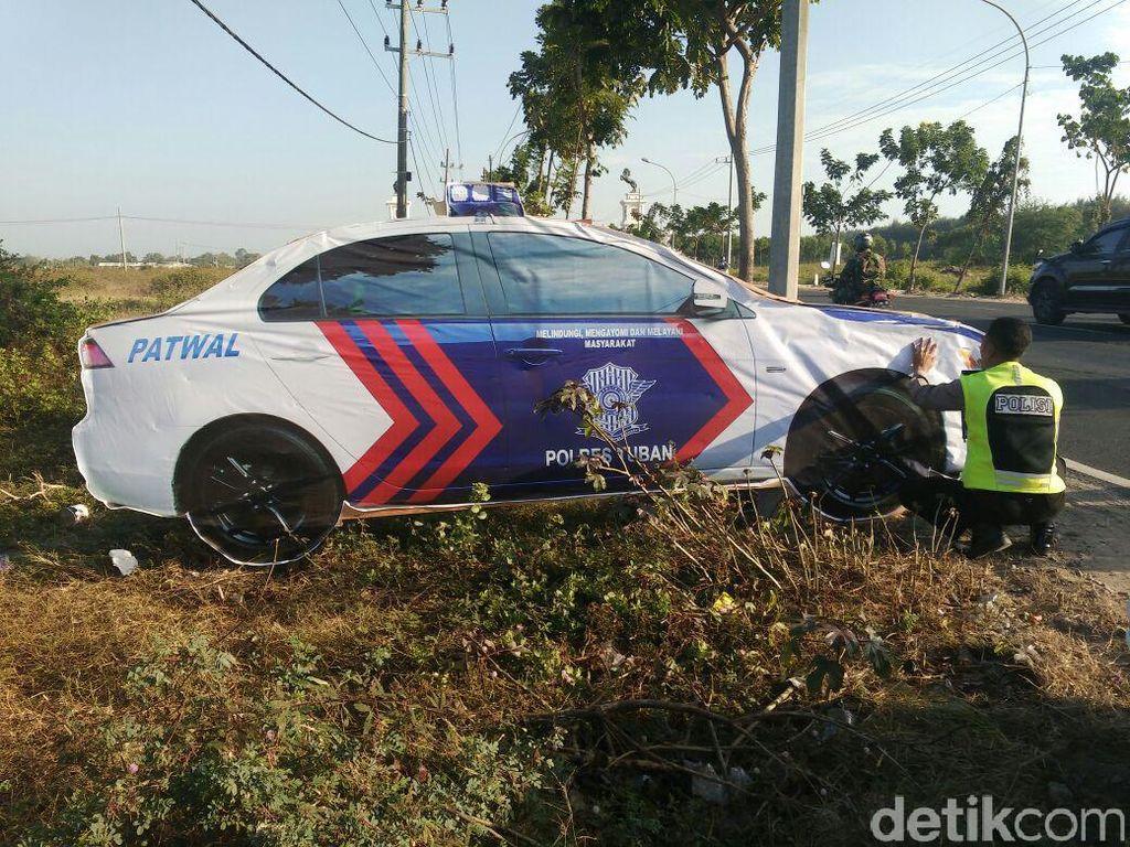 Mobil Patroli Polisi di Tuban Kecoh Pengendara, Dari Mana Idenya?