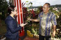Kepala Dinas Pemuda, Olahraga dan Pariwisata Kabupaten Sanggau F Meron (Rachman Haryanto/detikTravel)