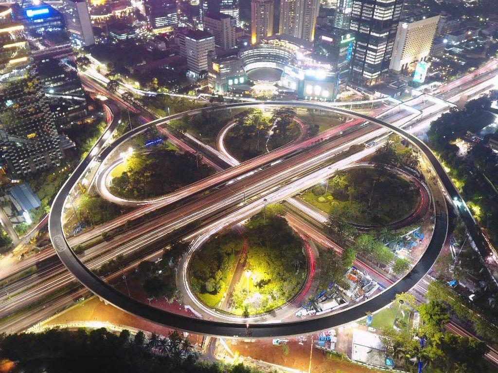 Warisan Ahok, Simpang Susun hingga Proyek LRT Jakarta