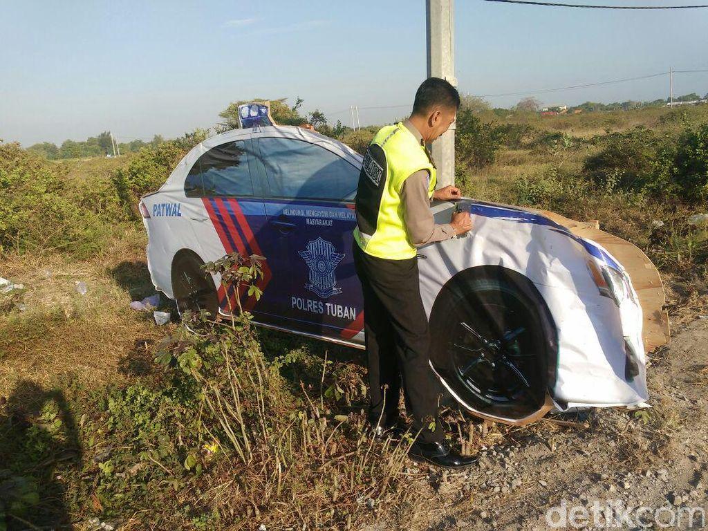 Mobil Patroli Polisi Kecoh Pengendara di Tuban Ada di Empat Titik