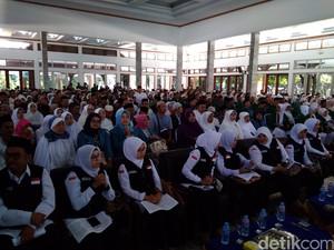 1.799 Calon Jemaah Haji dari Garut Siap Ibadah ke Tanah Suci