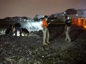 Mayat Pria Ditemukan Terbakar di Cengkareng