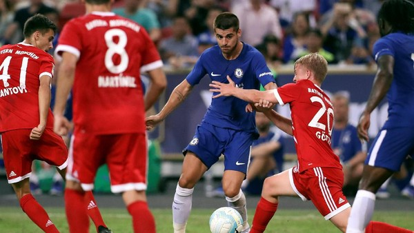 Menanti Pembuktian Alvaro Morata di Chelsea