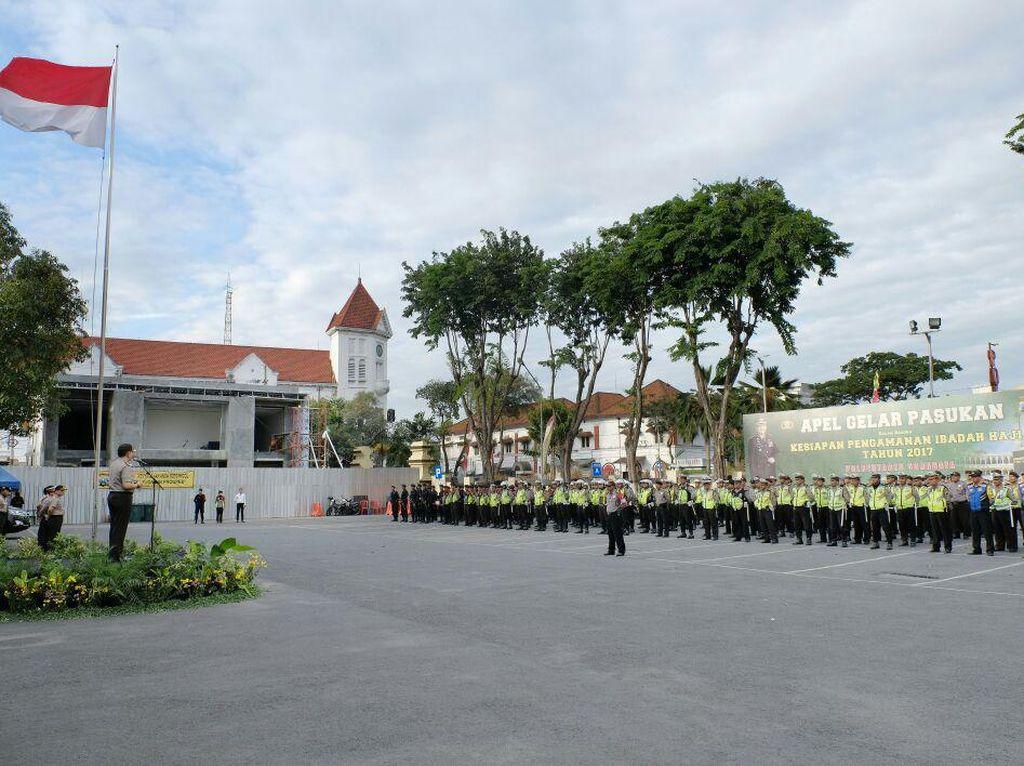 500 Personel Gabungan Amankan Jemaah Haji di Surabaya