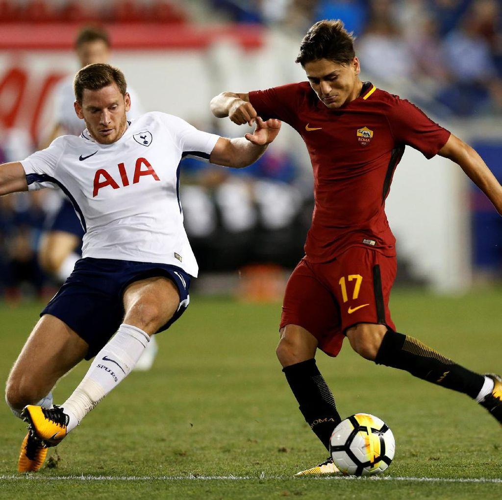 Roma Tundukkan Spurs 3-2