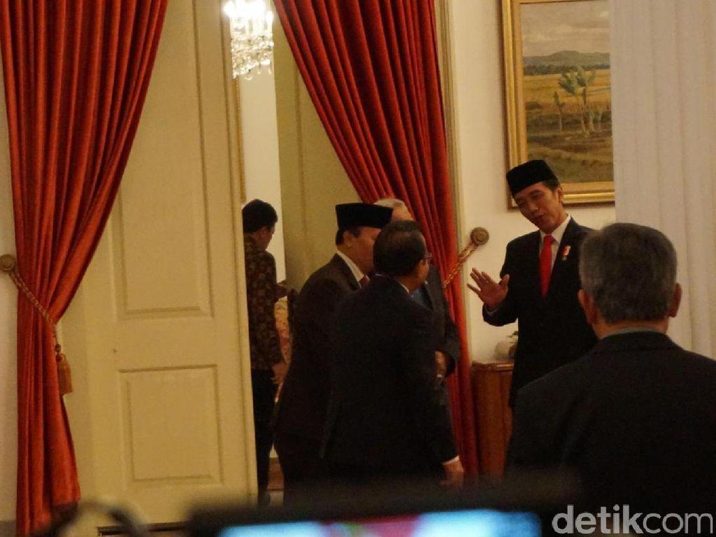 Momen Akrab Jokowi dengan Elite PKS dan PD di Istana