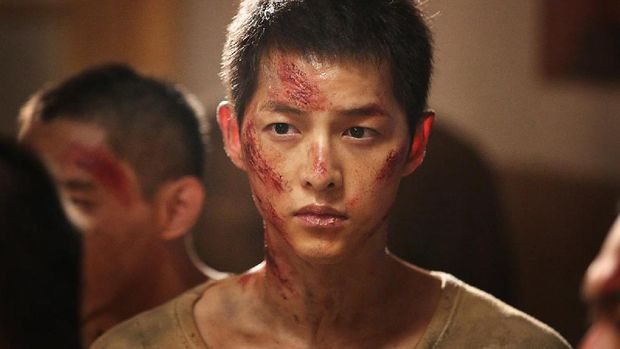Song Joong Ki di The Battleship Island.