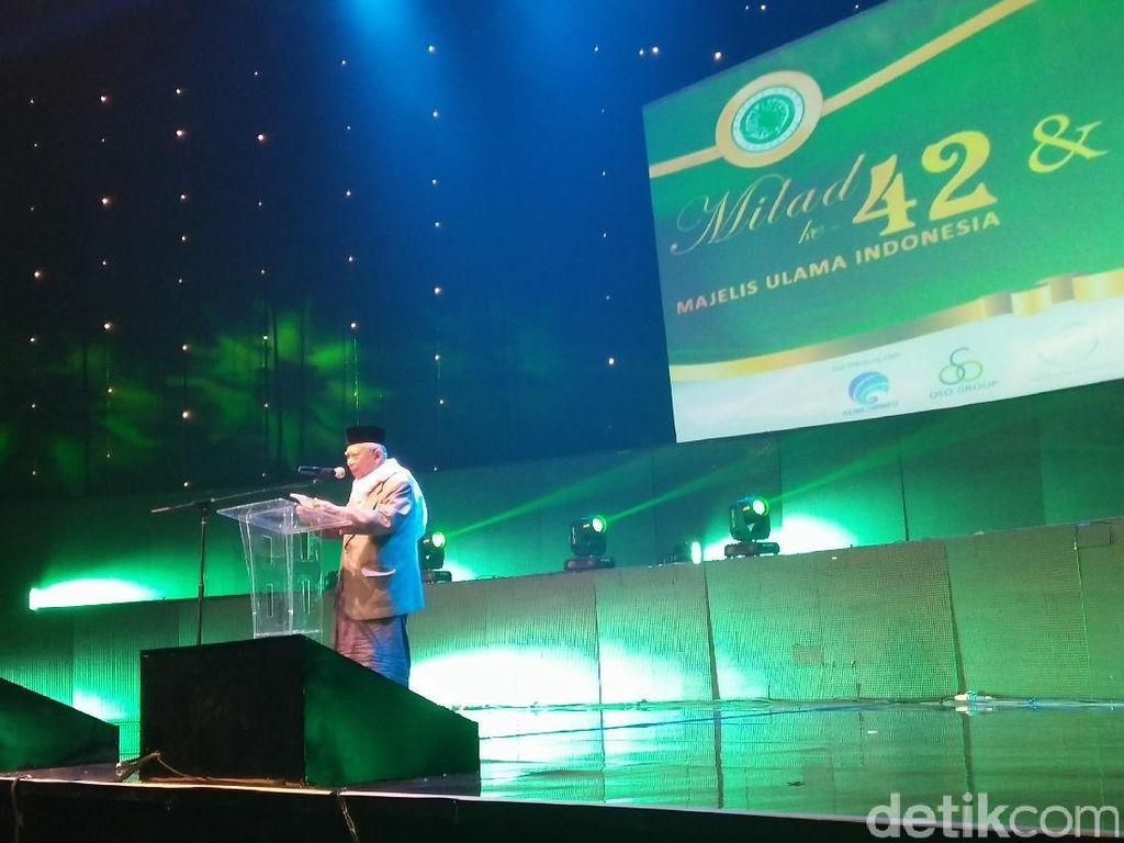 Menko Polhukam, Kapolri, hingga Panglima TNI Hadiri Milad Ke-42 MUI
