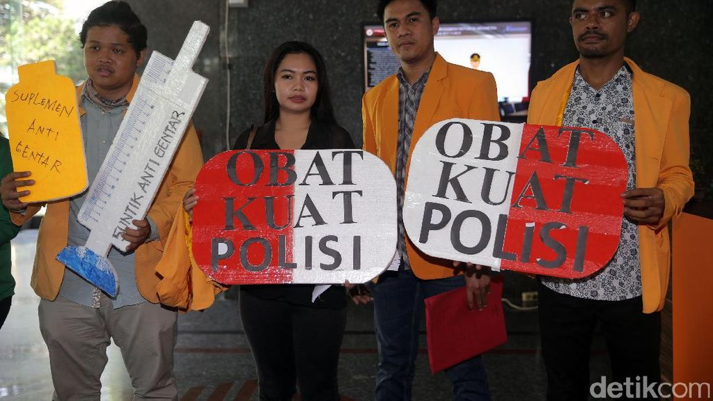 Obat Kuat dan Suplemen Anti Gentar untuk Polisi
