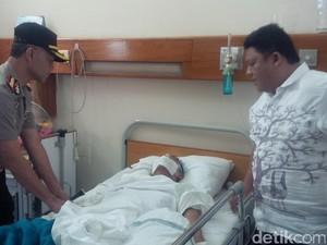 Riko Terbaring Empat Hari di RS Akibat Dikeroyok Bobotoh