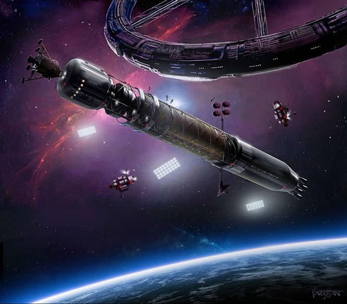 Ilustrasi Asgardia. Foto: Istimewa
