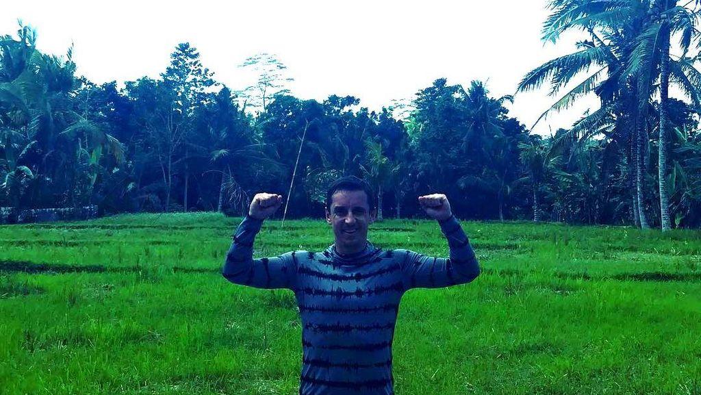 Foto: Liburan Legenda Manchester United di Bali