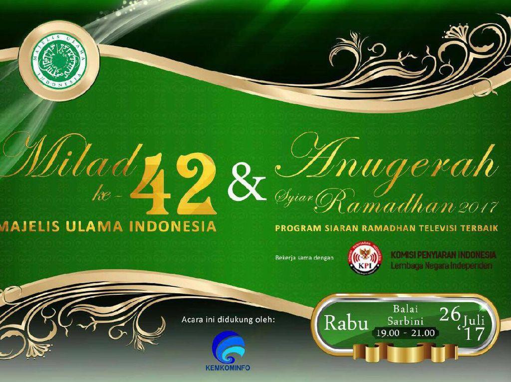 MUI dan KPI Anugerahkan Syiar Ramadan Terbaik 2017