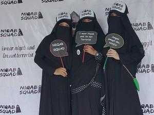 Mengenal Niqab Squad, Komunitas Para Wanita Bercadar di Indonesia