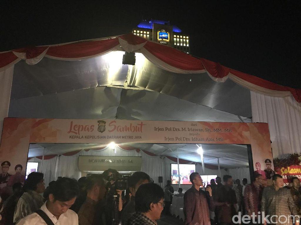 Pesta Pisah-Sambut Kapolda Metro, Djarot dan Kajati DKI Hadir