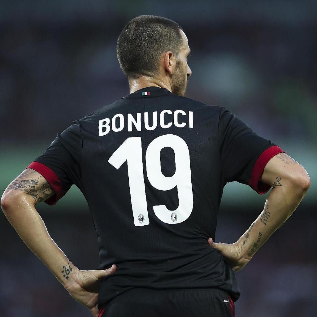 Juventus Sudah Perhitungkan Risiko Kepergian Bonucci
