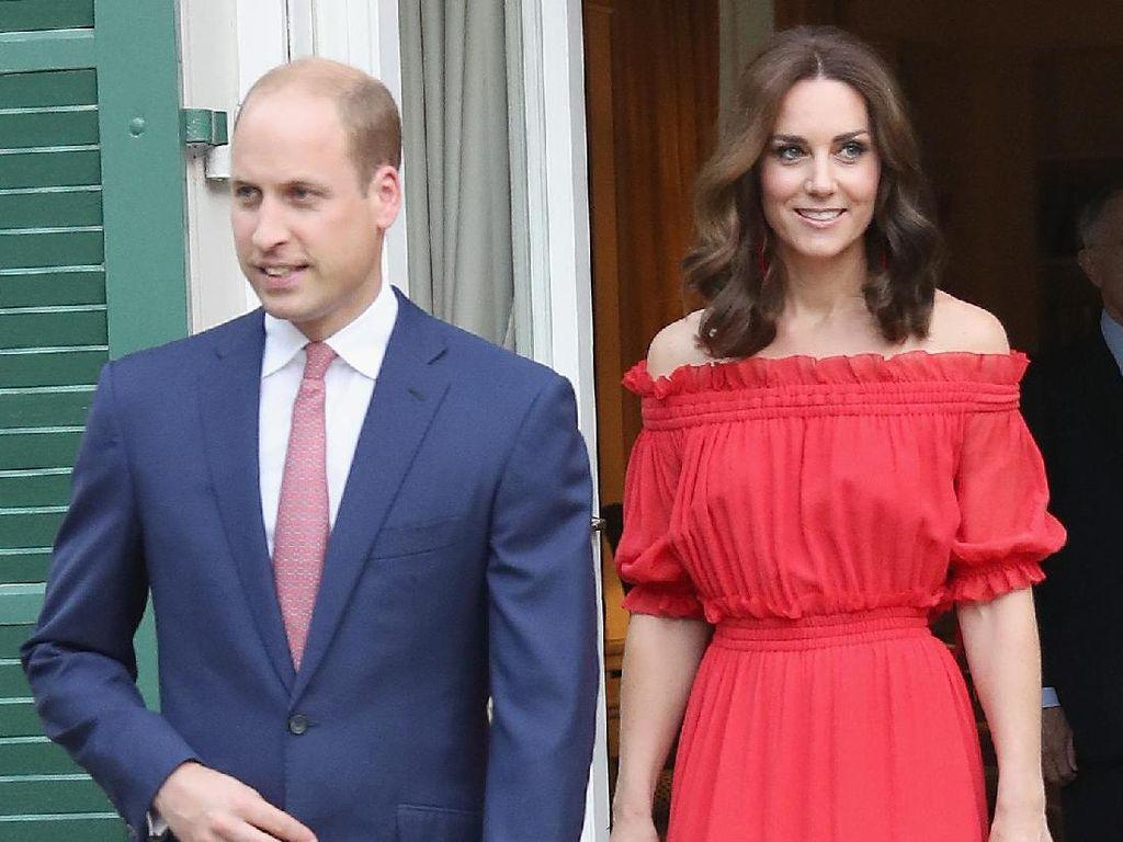 Sweet! Diam-diam Pangeran William Suka Tampil Serasi dengan Kate Middleton