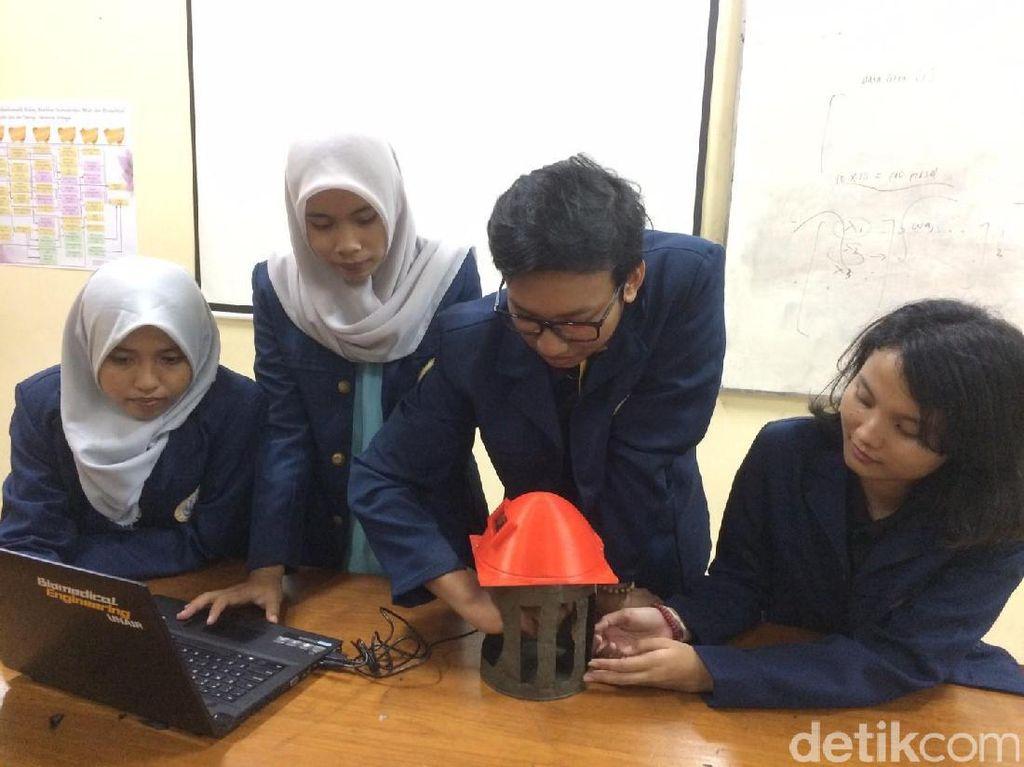 Mahasiswa Unair Ciptakan Vein Secure, Alat Keamanan Data