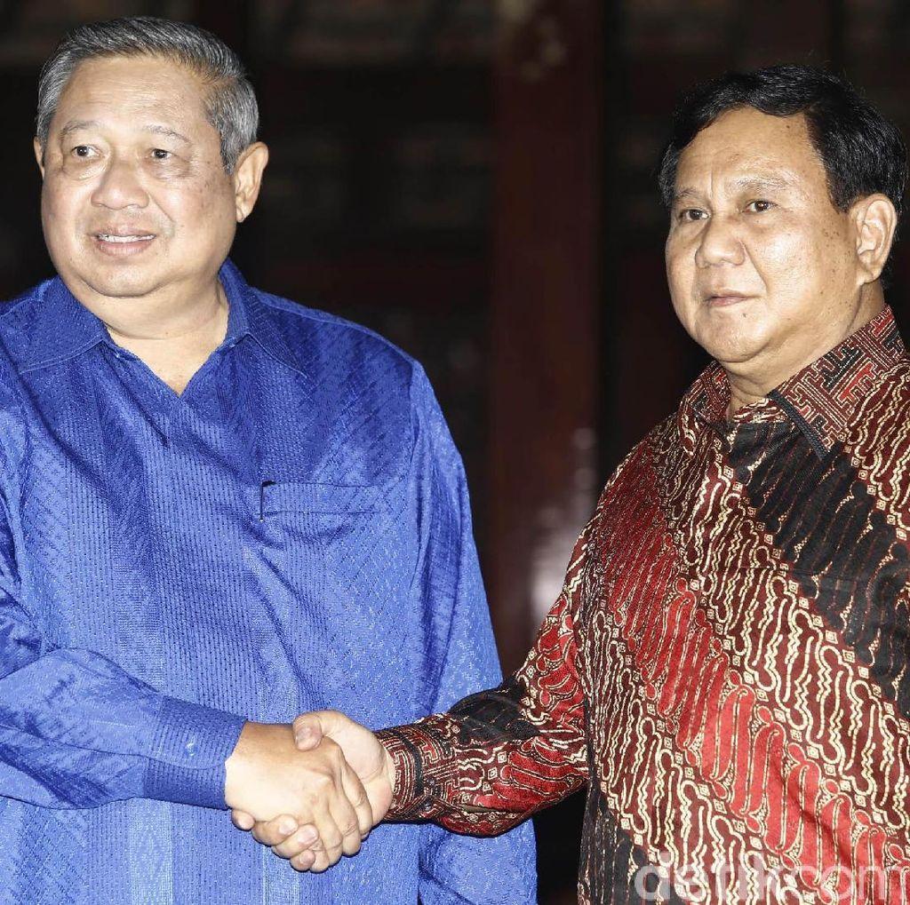Prabowo Segera Bertemu SBY Sepulang dari Luar Negeri