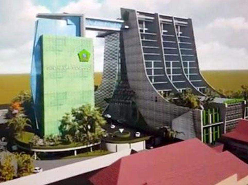 Bupati Sidoarjo akan Bangun Gedung Pelayanan Terpadu 17 Lantai
