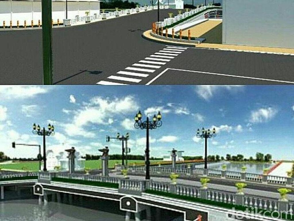 Jembatan Ratna Dipasang Girder, Jalan Darmokali Kembali Ditutup