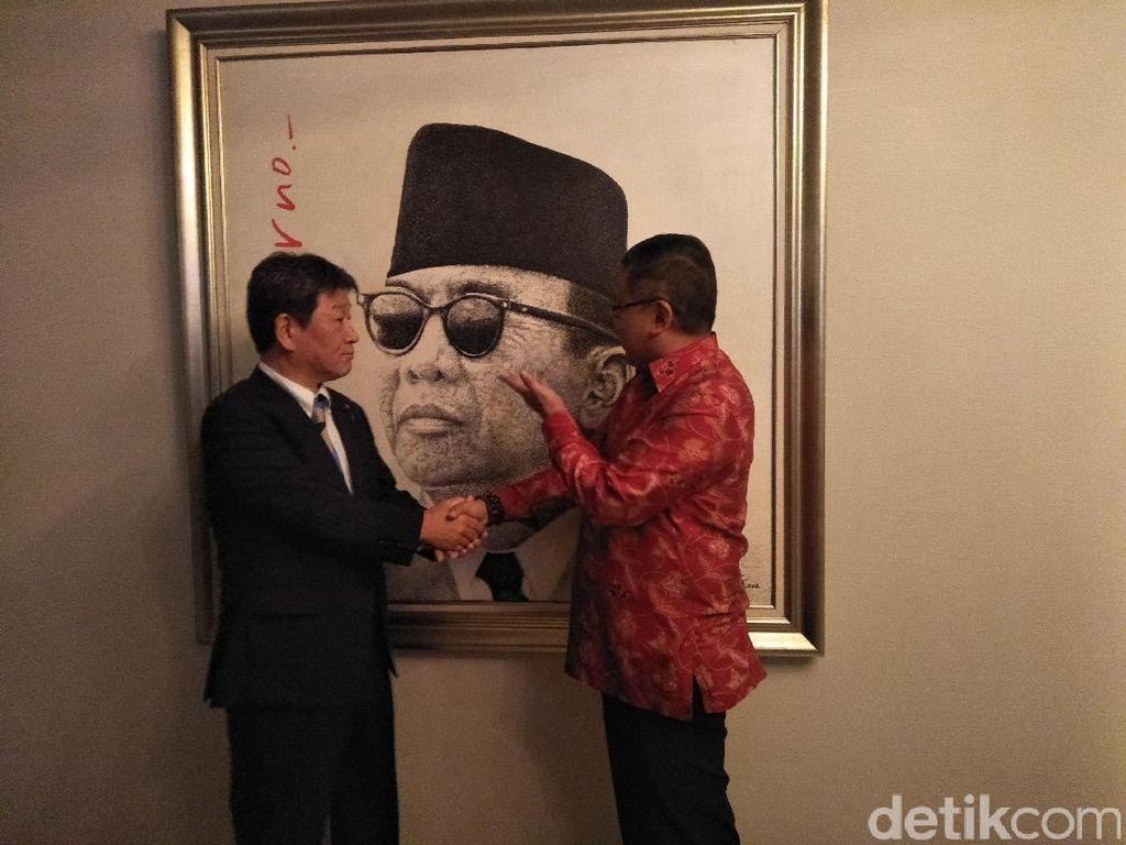 Bertemu Pengurus PDIP, Politikus Jepang Ini Puji Sukarno