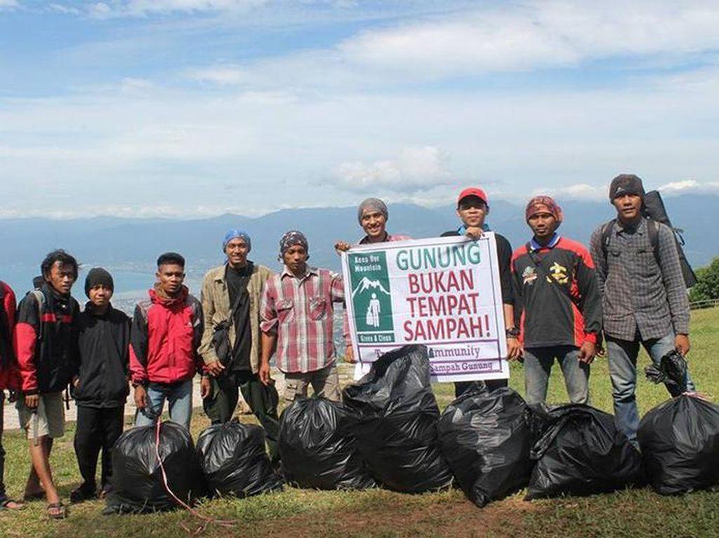 Trashbag Community, Gerakan Peduli Sampah di Gunung