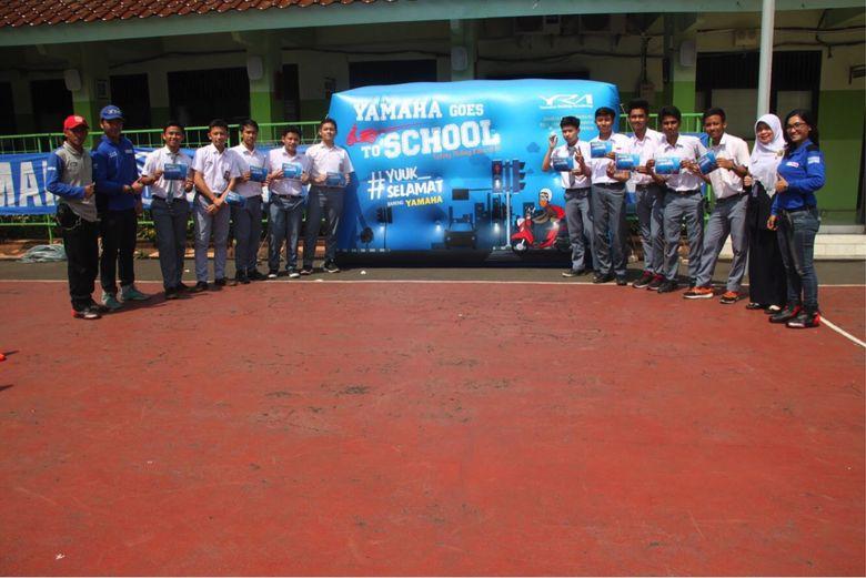 Yamaha Goes to School, Ajang Edukasi Safety Riding ke Siswa SMA