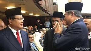 Pertemuan Prabowo-SBY Sudah Direncanakan sejak Pidato Raja Salman