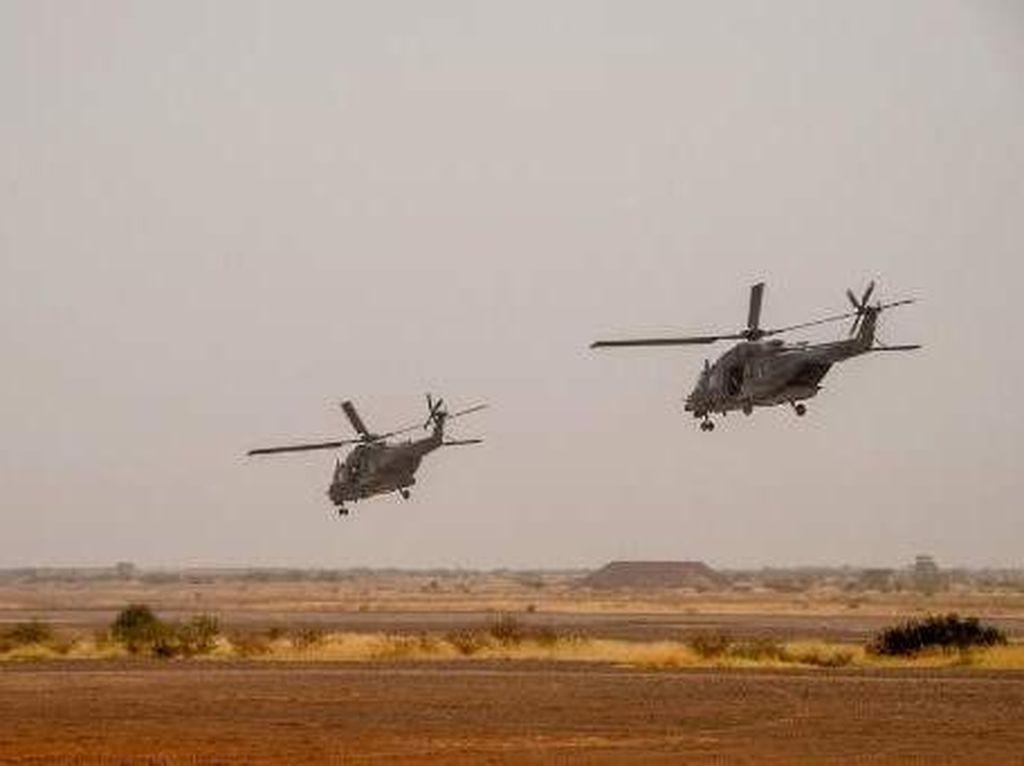 2 Anggota Misi Perdamaian Mali Tewas dalam Kecelakaan Helikopter