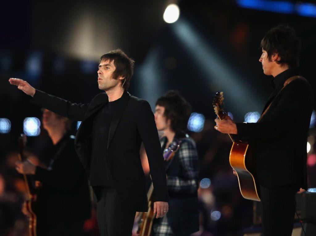 Belum Kapok, Liam Gallagher Tabuh Genderang Perang ke Calvin Harris