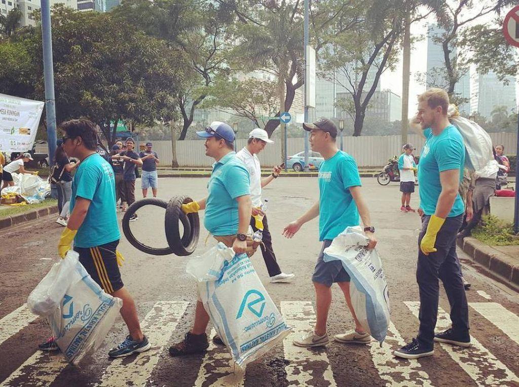 Ini Komunitas yang Suka Bersihkan Sampah di Jakarta