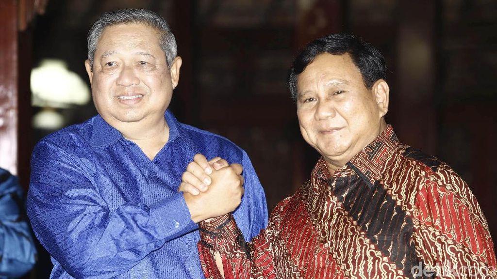 Salam Komando, SBY-Prabowo Sepakat Kerja Sama
