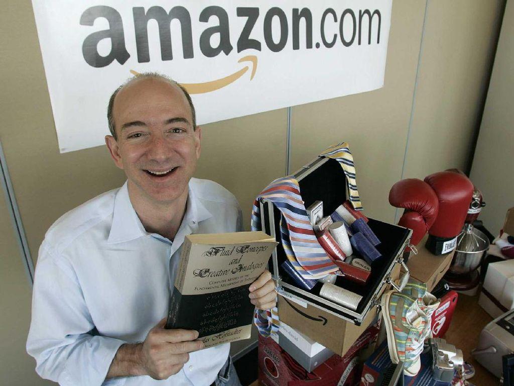 Menengok Perjuangan Keras Jeff Bezos, Manusia Rp 2.431 Triliun