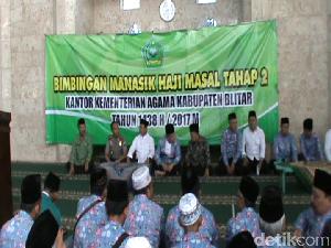 Faktor Usia, 20% Calon Jemaah Haji Blitar Butuh Pendamping
