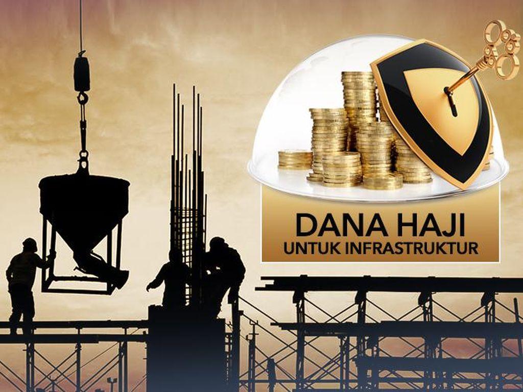 Investasi Dana Haji di Infrastruktur Aman, Dijamin Pemerintah