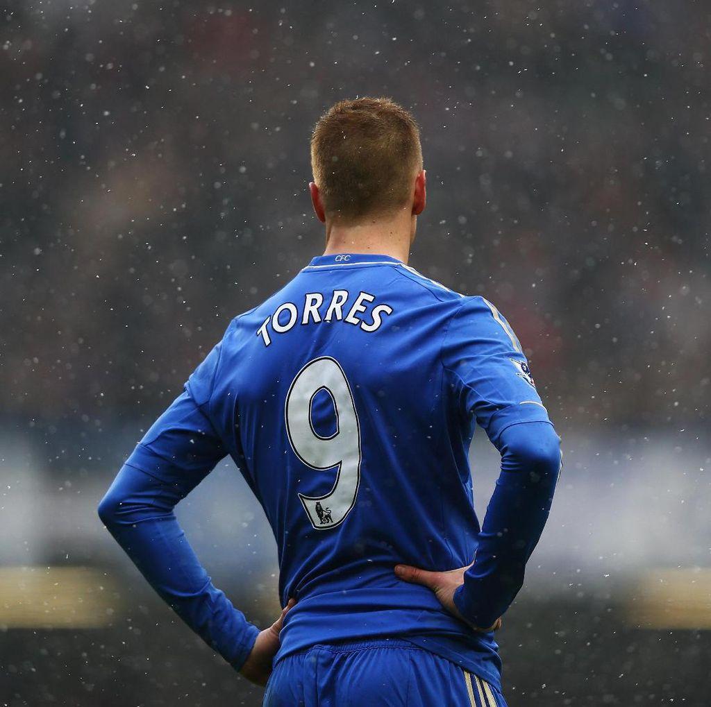 Foto: Morata dan Kutukan Nomor 9 di Chelsea