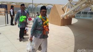 Suhu 44 Celsius Sambut Jemaah Haji Pertama Indonesia di Madinah