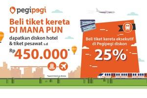 Beli Tiket Kereta di KAI Travel Fair, Dapat Diskon Hotel dan Pesawat