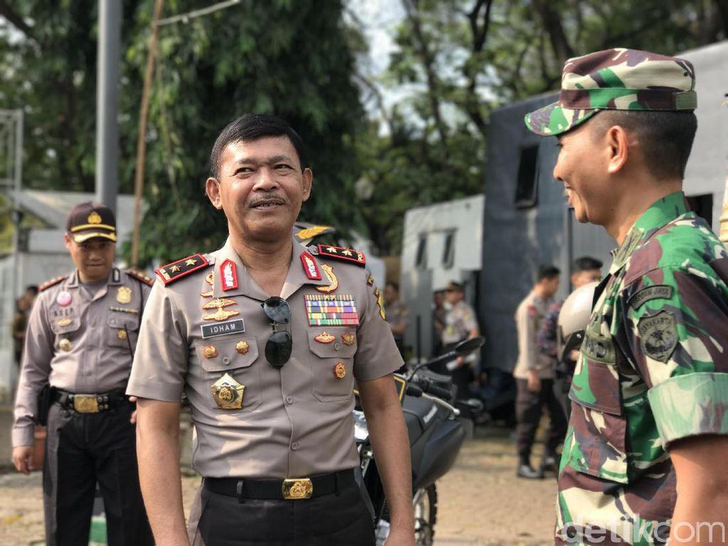 Silaturahmi ke Kodam Jaya, Kapolda Metro: TNI-Polri Harus Harmonis