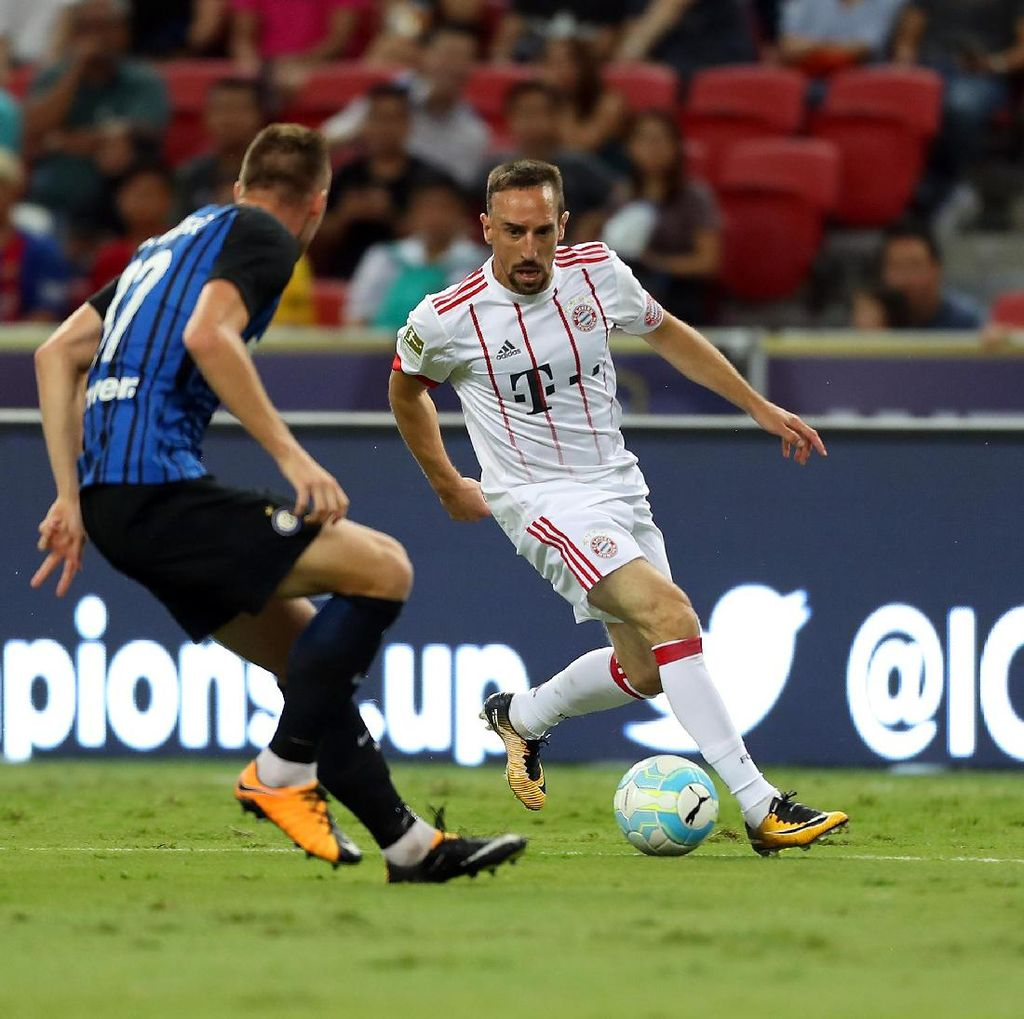 Ribery Cedera Saat Lawan Inter, Ancelotti: Tidak Serius, <i>Kok</i>