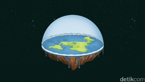 Naik-Turun Kisah Si Bumi Datar
