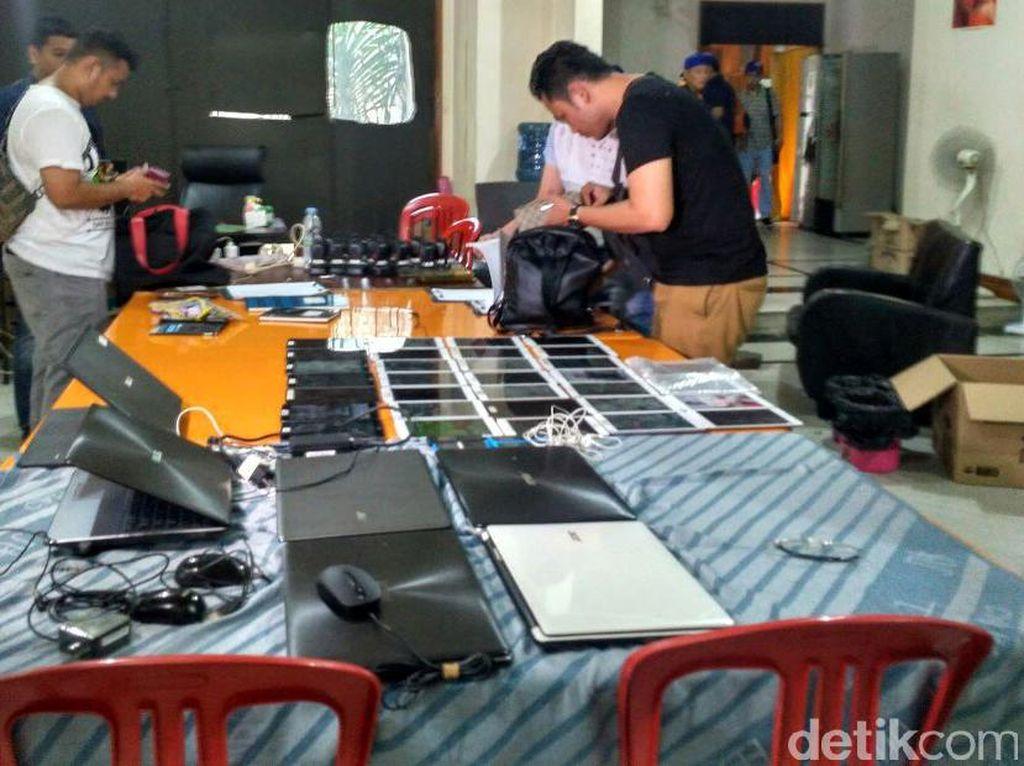 Penggerebekan Sindikat Kejahatan Siber Internasional di Pondok Indah