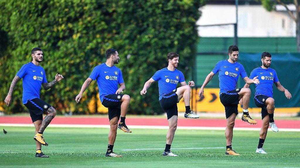 Melihat Latihan Inter dan Chelsea di Singapura