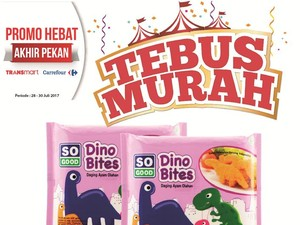 Tebus Murah So Good Dino Bites di Promo Weekend Transmart Carrefour