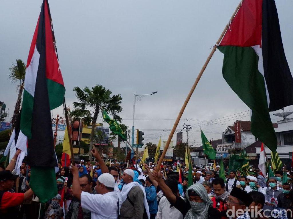 Ratusan Massa di Wonosobo Gelar Aksi Suarakan Pembebasan Al-Aqsa